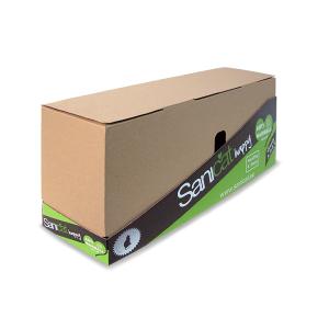 2 in 1-Verpackungen - Sicherer Transport - Verkaufsverpackungen - Deckel leicht entfernbar