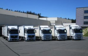 Unsere Leistungen - Pack mas GmbH - Logistik - LKW-Fuhrpark, Transportmittel