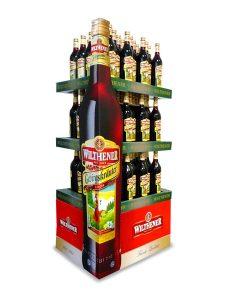 Displays - Praktisches Inseldisplay - Wellpappe - Vielseitig einsetzbar - Wilthener, Schnaps