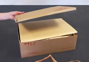 Praktische Luftfrachtkartons - Ware manipulationssicher verpackt