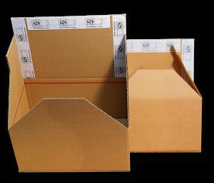 Luftfrachtkartons - Manipulationssichere Verpackungen - Sicherer Transport