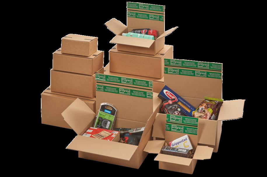 """Flixbox Return """"Premium"""" - Verpackungen mit doppeltem Selbstklebeverschluss - Extreme Stabilität"""