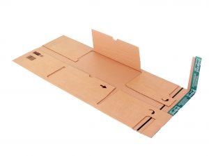 Praktische Versandtaschen - Verpackungen aus Wellpappe