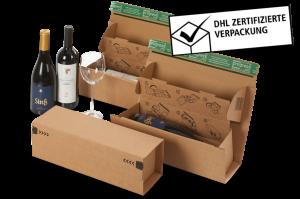 Weinbox Multi Premium - Stabiler Versandkarton