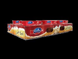 Steigen und Trays - Transportierfähige und stapelbare Kartons - Joghurtsteige