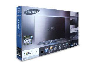 Großformatige Transportverpackungen - Samsung-TVs - Packgüter