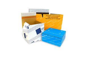 Versandverpackungen mit Aufreißfaden und Selbstklebeverschluss - Individuell bedruckt