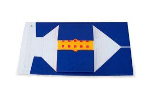 Bedruckte Buchverpackung - Aufreißfaden, Selbstklebeverschluss - Versandverpackungen - Sicheres Öffnen und Verschließen